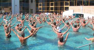 aqua fitness video